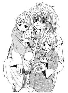 Zeno with children ..^^.. Akatsuki No Yona