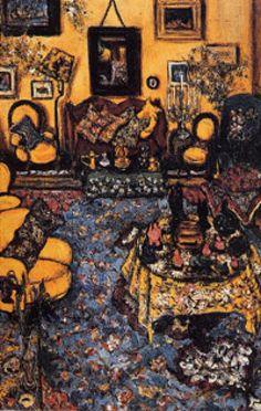 My Summer House, Buyukdere - Princess Fahrelnissa Zeid Amman, Jordan Abstract Painters, Abstract Art, Bernard Shaw, Turkish Art, Art Database, Amman, Room Paint, Painting & Drawing, Art History