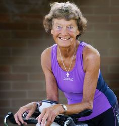 Madonna Butler, 83 anys, corredora de marató.