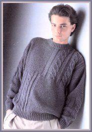 men's vest pattern Mens Knit Sweater Pattern, Vest Pattern, Sweater Knitting Patterns, Men Sweater, Knitwear, Knit Crochet, Pullover, Couture, How To Wear