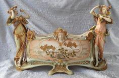 Jardinière d'Ernst Wahliss, Turn Wien, Circa 1900. | Art, antiquités, Objets du XIXème, et avant | eBay!