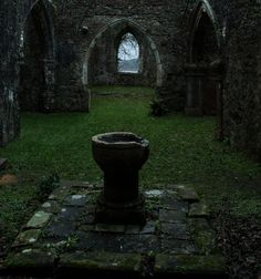 Old Church Ruins Stock 04.. by WelshDragonStockNArt