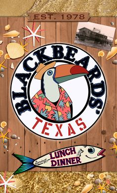 Blackbeards' Restaurant in South Padre Island - recommended by a friend who grew up there.