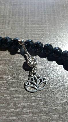 Piercing for navel lotus flower yoga Navel, Lotus Flower, Piercings, Cufflinks, Charmed, Yoga, Bracelets, Etsy, Accessories