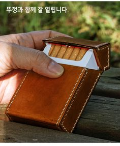 Leather Tobacco Pouch, Leather Cigarette Case, Vintage Cigarette Case, Leather Wallet, Knitting Needle Case, Cigars And Whiskey, Leather Moccasins, Coin Bag, Small Leather Goods