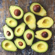 Enjoying an avocado a day can support a healthy liver, the body's main detoxifying organ. Good thing I LOVE avocados!