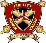 The 12th Marine Regiment on Camp Butler, Okinawa Marine Corps Base.