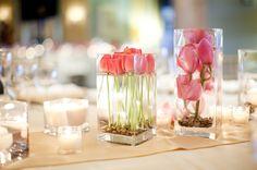 Decoração de casamento - Arranjos de mesa | Casar é Fácil - O Blog da cerimonialista Emanuelle Missura