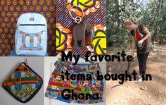 Ik heb inmiddels een aardige verzameling producten uit Ghana in huis gehaald. Ik ben dan ook grote fan van de kleuren en stoffen die gebruikt worden. En in de meeste gevallen zijn de producten handgemaakt en uniek, dat maakt het net nog meer speciaal. Vandaag deel ik met jullie mijn favoriete producten van dit moment.
