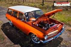 After falling in love with the Holden Monaro as a kid, Jamie McKay finally has his own – and it's a stunning Chev-powered street cruiser Australian Muscle Cars, Aussie Muscle Cars, Holden Wagon, Holden Australia, Luxury Suv, Drag Cars, Station Wagon, Ford Trucks, Hot Cars