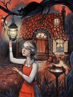 """""""Snow White and Rose Red"""" book by Kallie George re-illustrated with modern, magical paintings by Kelly Vivanco. Snow White and Rose Red live with their mother in cozy, peaceful cottage in the woods. 2014"""
