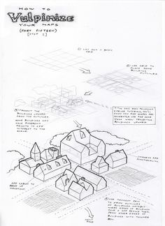 Observations of the Fox: Map Drawing Tutorial 15 (Part 1): Isometric Mapping