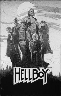Hellboy by Drew Struzan