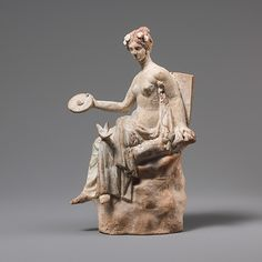 Aphrodite Seated on a Rock    Greece, 3rd century BC    The Metropolitan Museum of Art