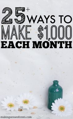 There are many ways to make extra money each month. Today, you'll learn about the many ways to make an extra $1,000 a month and how to make 1000 a month.