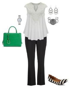 """""""Plus Size Work Wear Outfit"""" by jmc6115 on Polyvore"""