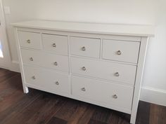 Hemnes 3 drawer chest white stain future pinterest hemnes