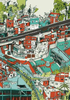 Ciudad by Benjamin Courtault