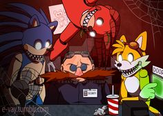 Five Nights at Speedy's by E-vay on DeviantArt Hedgehog Art, Shadow The Hedgehog, Sonic The Hedgehog, Sonic Unleashed, Sonic Funny, Sonic Fan Art, Pokemon, Shadow Art, Freddy S