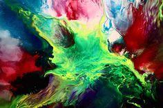 Colorful Abstract Art by kredart.com