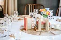 DIY Wedding Reception Centrepieces | Photo by Jonathan David