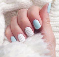 Вязаный маникюр: модный тренд этой зимы | 4mama.com.ua