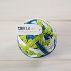 AOTEAROA - hand dyed self striping sock yarn 75/25 superwash merino/nylon by StrayCatSocks on Etsy https://www.etsy.com/listing/198933766/aotearoa-hand-dyed-self-striping-sock