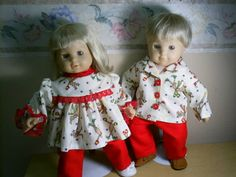 Bitty baby twins christmas lookalike outfit by Lindasdollcloset, $16.00