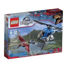 LEGO Jurassic World Pteranodon Capture 75915 Building Kit