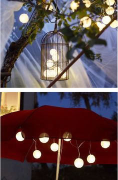 Nightfall doesn't have to mean an end to enjoying the outdoors. With a few lights, your afternoon snooze spot can turn into an evening under the stars. SOLVINDEN lights convert sunlight into electricity, so no cords or plugs are needed.