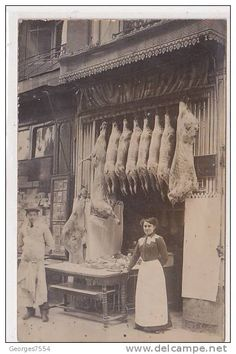 Woman butcher