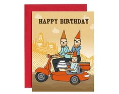 Happy birthday card, sloth cards