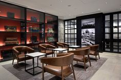 Japan Airlines International Lounge, Haneda Airport | Airport lounge | Contract furniture #airportlounge #contractfurniture Read more at: www.brabbu.com