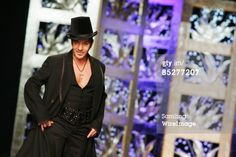 John Galliano attends the Christian Dior Ready-to-Wear A/W 2009 fashion show during Paris Fashion Week at Espace Ephemere des Tuileries on March 6, 2009 in Paris, France.