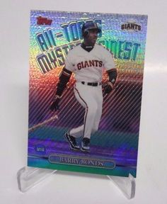 1999-Topps-All-Topps-Mystery-Finest-BARRY-BONDS-Refractor-GIANTS