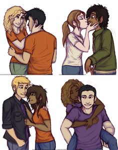 PJO Couples by Deesney on DeviantArt