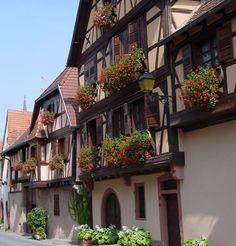 Travel Inspiration for France - Obernai - Village