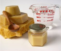 Beeswax and Mineral Oil for wooden utensils and cutting boards