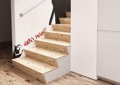 Design dřevěné schody | Designové schodiště ze dřeva