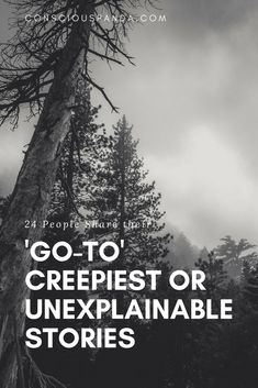In this article 24 People Share their 'Go-To' Creepiest or Unexplainable Stories True Creepy Stories, Creepy But True, True Horror Stories, Paranormal Stories, Spooky Stories, True Stories, Scary Stuff, Paranormal Photos, Creepy Things