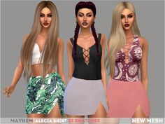 Sims 4 CC's - The Best: Skirts by Mayhem Sims