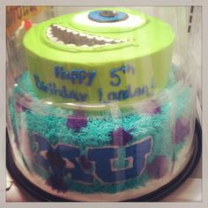 Monsters University Birthday Cake, special ordered from Market Basket for $40!