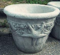 17 mini cherub angel planter or vase concrete garden for Landscaping rocks tallahassee