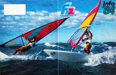 Windsurfing vintage - F2 brochure 1984 (1)