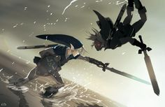 Dark Link at the Water Temple