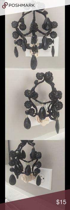Chandelier night light Black Crystal chandelier nigh light Other