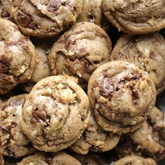 Chocolate chips, Chips and Chocolate chip cookies on Pinterest