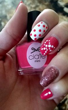 Girly Nails by DrVixen on the #Sephora Beauty Board #ciate