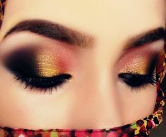 Peach Arabic Makeup Look by فاطمة ه Kiss Makeup, Makeup Art, Beauty Makeup, Makeup Ideas, Beauty Tips, Eyeliner Makeup, Indian Bridal Makeup, Wedding Makeup, Arabic Makeup Tutorial