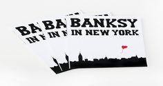"""Banksy in New York"" chronicles the artist's NYC graffiti spree"